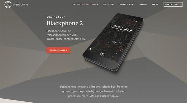 Pré-commande Blackphone 2