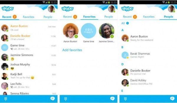 Captures Skype