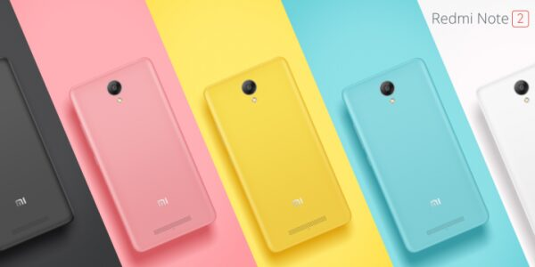 redmi note 2 couleurs