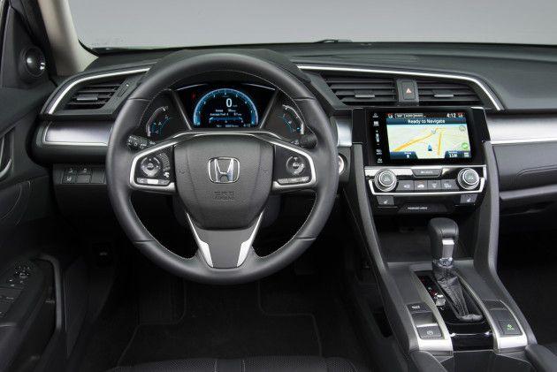 Honda Civic 2016, Android Auto en route sur la nouvelle Honda Civic 2016