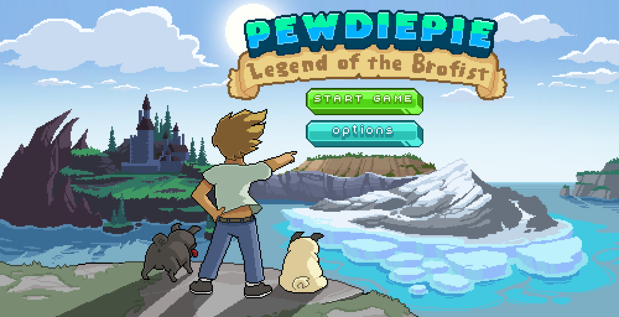 Brofist, Pewdiepie : Legend of the Brofist d'ici jeudi !