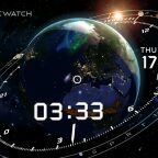 Cosmic-Watch, Cosmic-Watch : une superbe « montre » cosmique sur Android