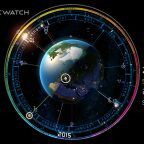 Cosmic-Watch, Cosmic-Watch : une superbe «montre» cosmique sur Android