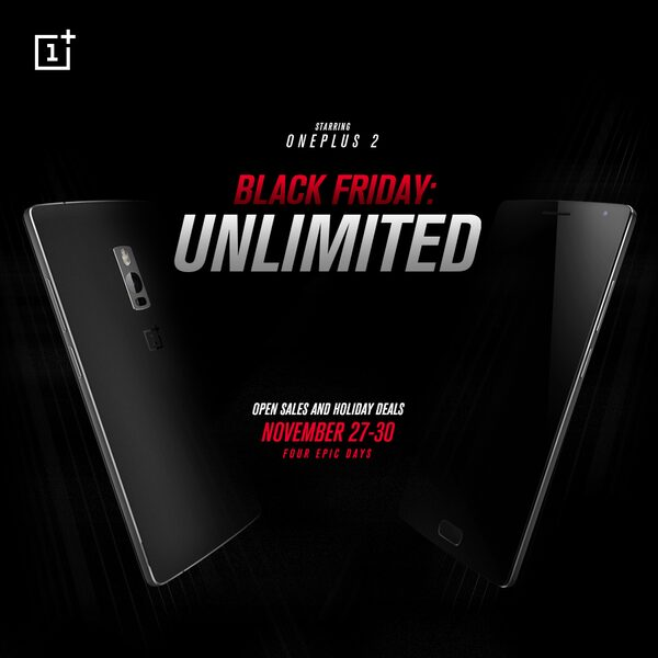 OnePlus 2 invitation novembre