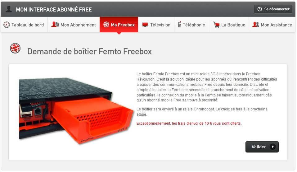 femto free gratuit