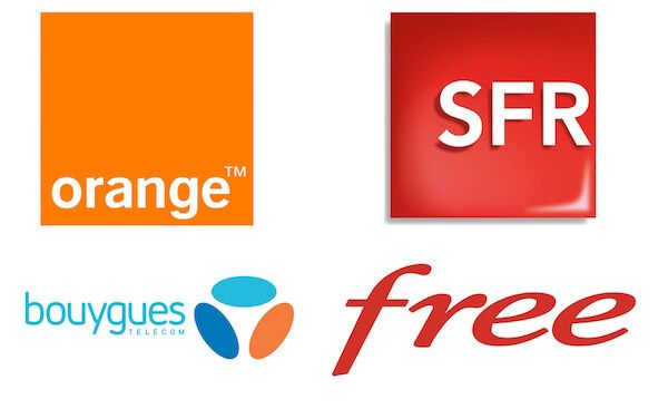 Orange-SFR-Bouygues-Telecom-Free-Mobile-Logos