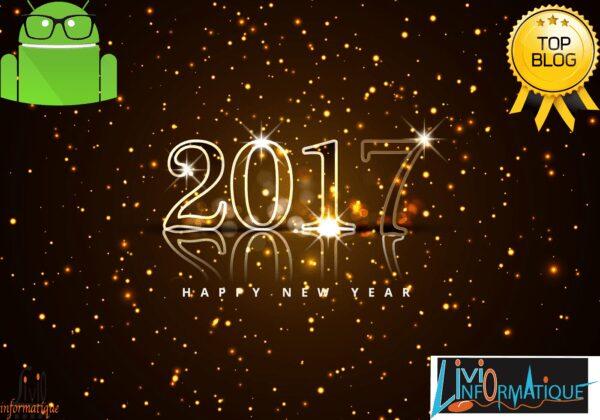 , DroidSoft vous souhaite une bonne année 2017 !