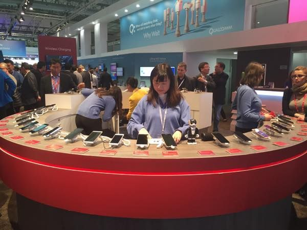 stand Qualcomm-MWC 2016