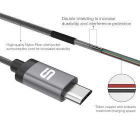 Test du câble MicroUSB en nylon tressé de Syncwire 3