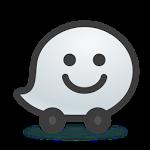 logo  Waze - GPS, Cartes & Trafic