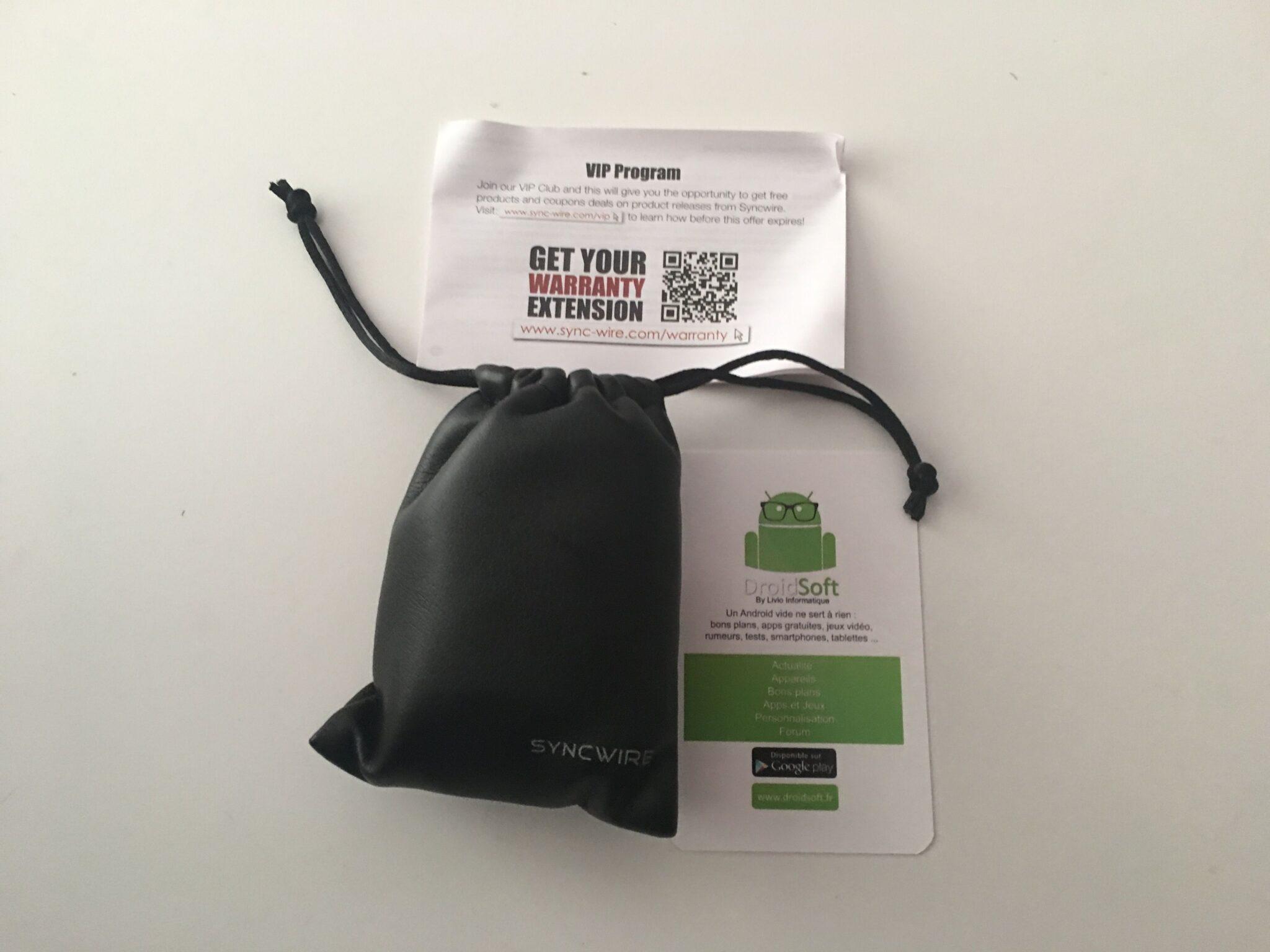 Test des écouteurs Bluetooth Sport Syncwire 4