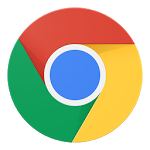 logo  ‏متصفح Chrome ‏- Google