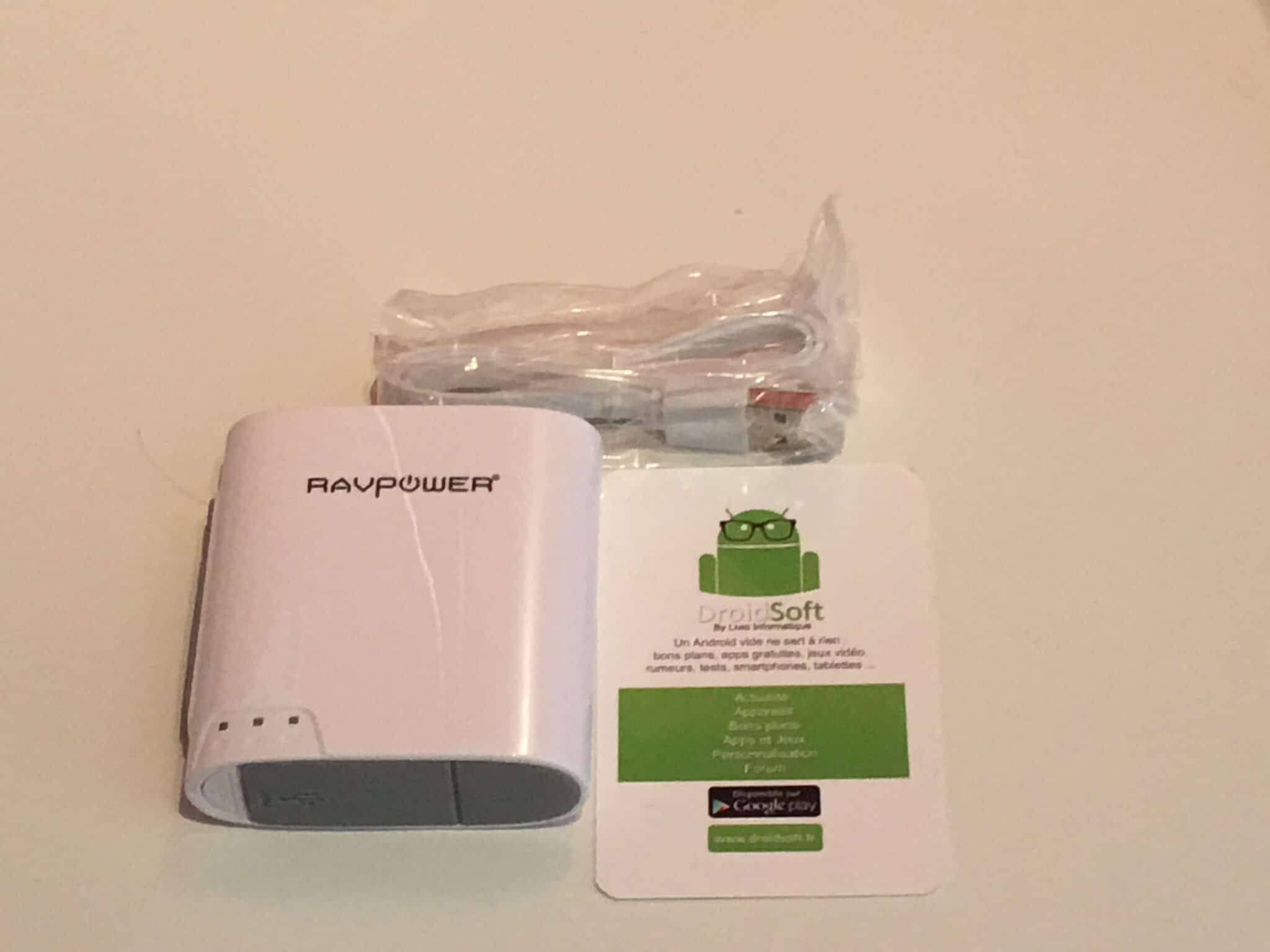 RAVPower à RP-WD02 6-en-1 FileHub  4
