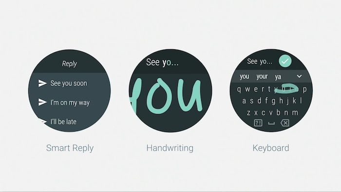 Android-Wear-2.0-Messages-Clavier
