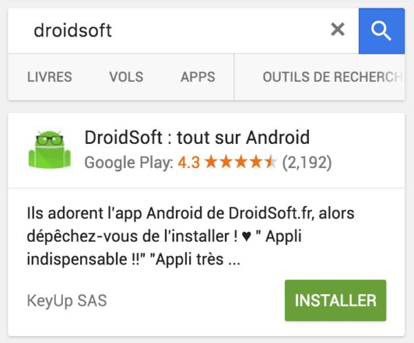 capture google droidsoft app