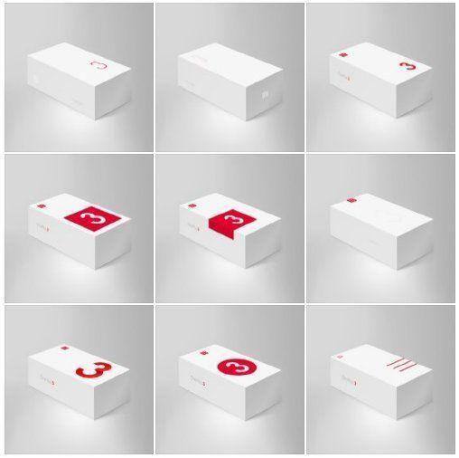 fuites boites OnePlus 3
