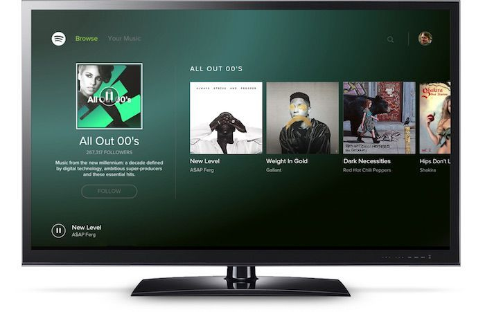 Spotify-Application-Android-TV