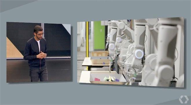 robots programmés