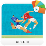 logo  XPERIA™ Football Theme