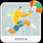 logo  XPERIA™ Tennis Theme