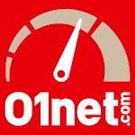 logo  01net.com SpeedTest