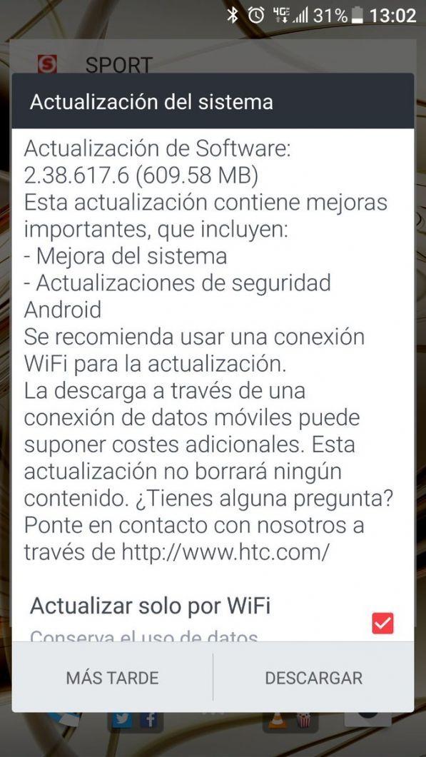 , Le HTC 10 reçoit une mise à jour qui améliore la stabilité, mais n'amène pas Android Nougat