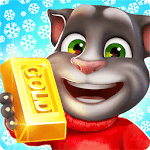 logo  Talking Tom: Course à l'or