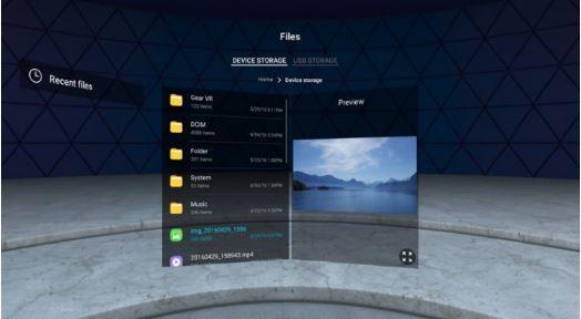 , Le navigateur du Samsung Gear VR est mis à jour en mettant en œuvre l'API WebVR