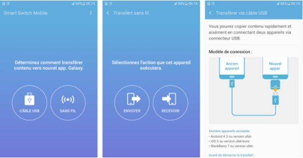 , Samsung Smart Switch Mobile supporte maintenant Windows 10 et Android 7.0 Nougat