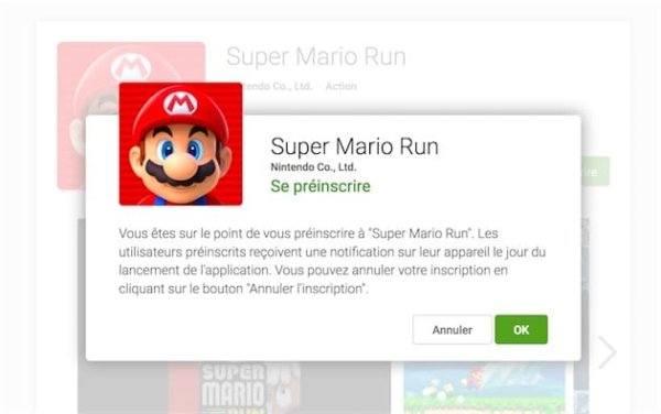 , Super Mario Run arrive sur le Play Store avec l'ouverture des pré-inscriptions