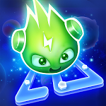 logo  Glow Monsters - Jeu labyrinthe