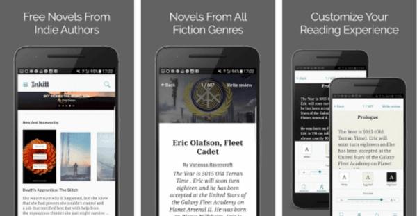 , Inkitt – Romans est disponible gratuitement sur le Play Store