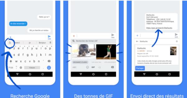 , Gboard est mis à jour et introduit 36 nouvelles langues et la recherche de GIF