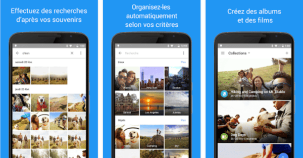 , Google Photos mis à niveau vers la version 2.7