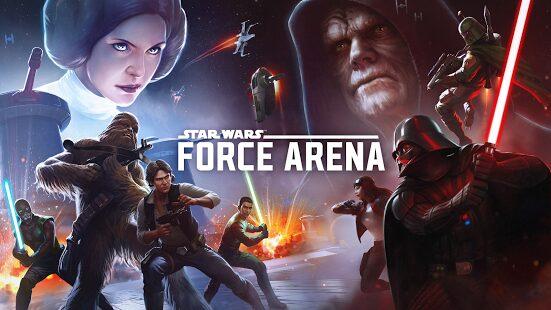 , Star Wars™: Force Arena officiellement disponible sur le Play Store