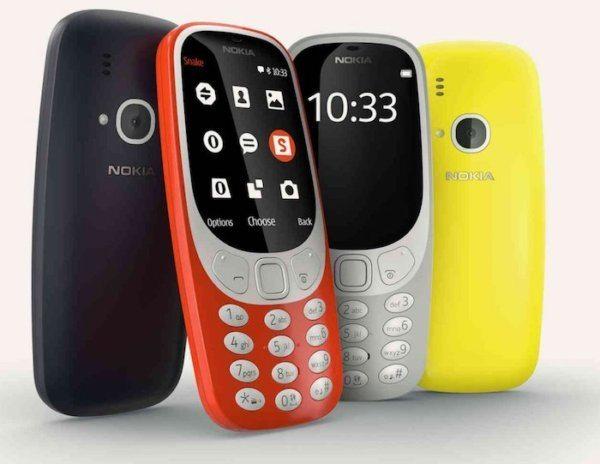 Nokia-3310-2017 ecran couleur