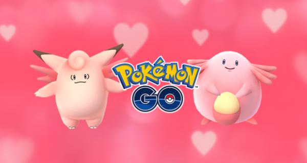 , Pokémon GO organise un événement spécial Saint Valentin