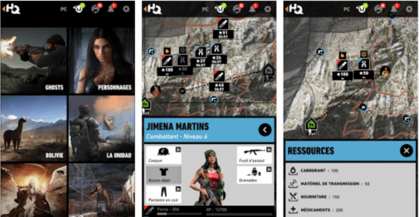 , Ghost Recon® Wildlands HQ disponible sur le Play Store
