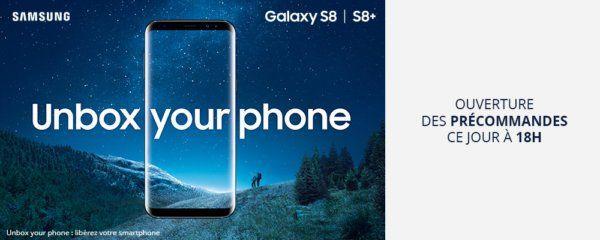 , Le Galaxy S8 se montre avant la conférence avec son écran Infinity
