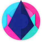 logo  Unicorn Dark - Icon Pack