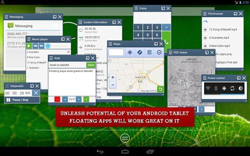 , Floating Apps : plus de 35 mini outils flottants toujours sous la main !