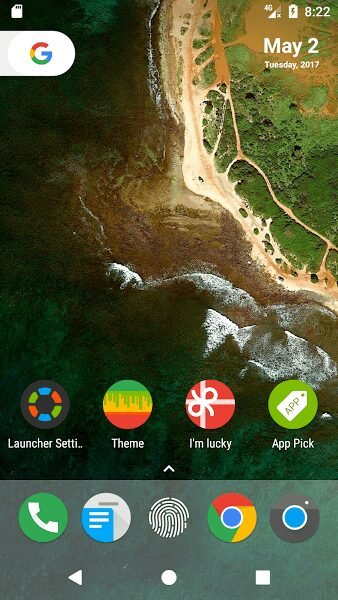 n launcher pro android 7