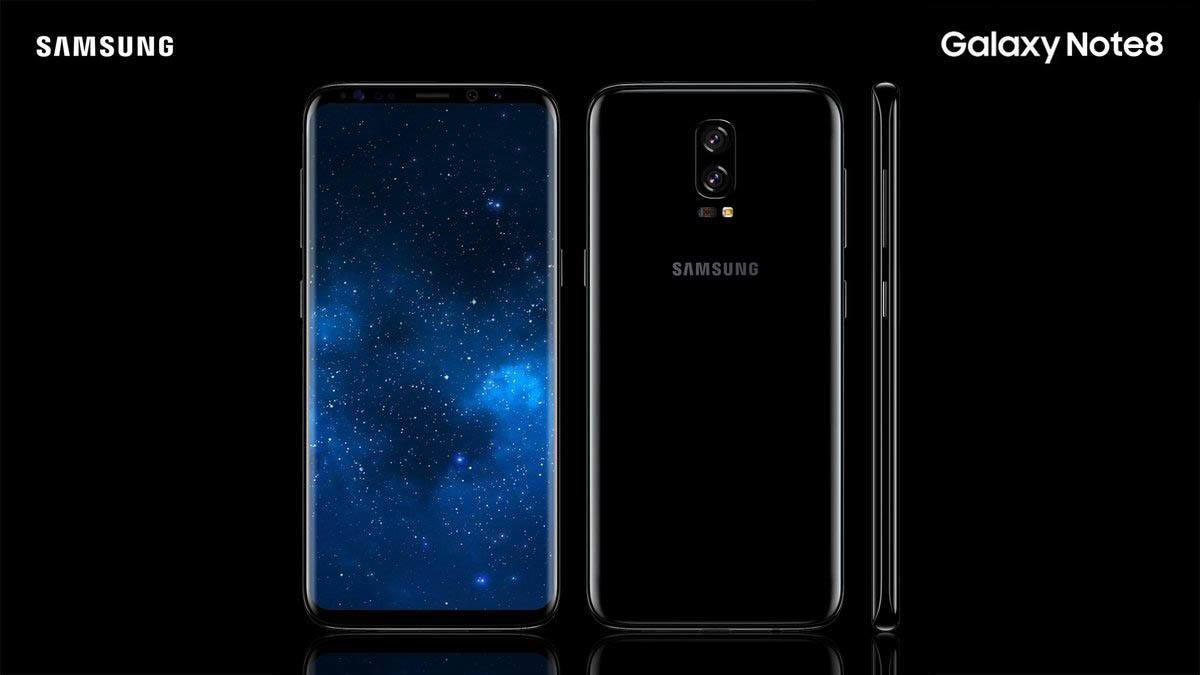 , Samsung Galaxy note 8, ses caractéristiques, son prix et sa taille