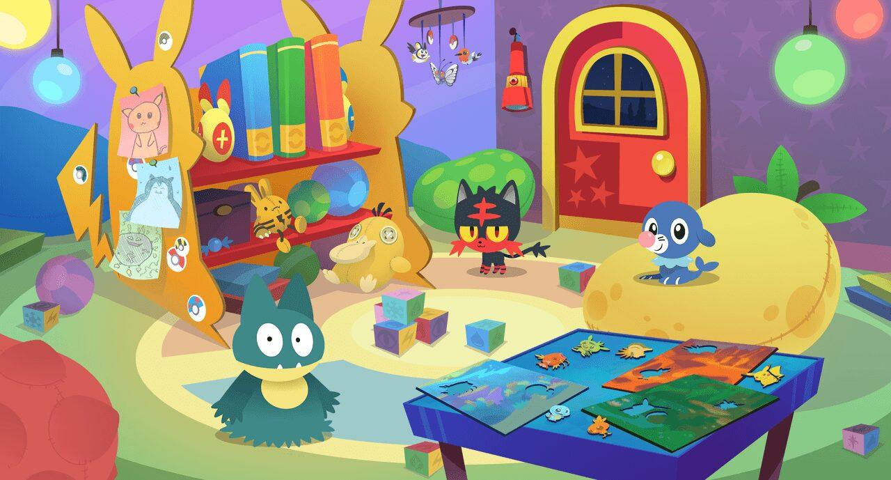 , Pokémon Playhouse un petit jeu pour les enfants