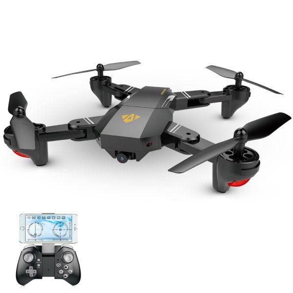 , Bon plan : drone quadcopter selfie Visuo XS809W pour moins de 32€