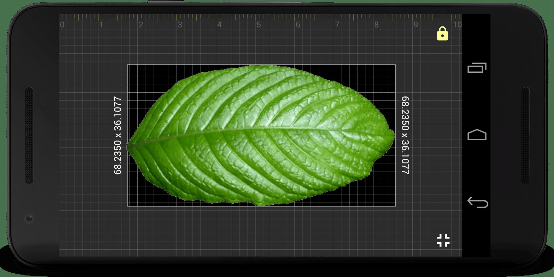 , Application du jour : Millimeter Pro règle à l'écran