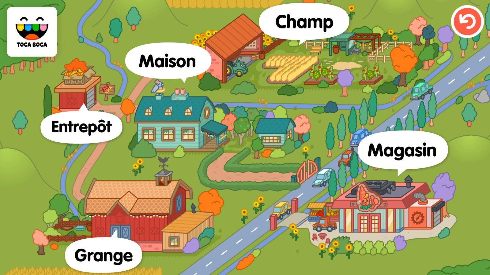 , Application du jour : Toca Life Farm