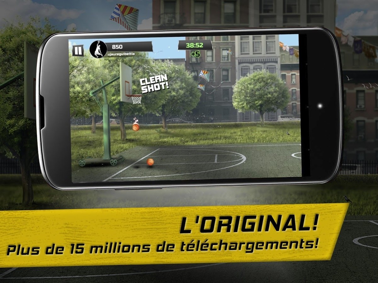 , Application du jour : iBasket Pro Basket de rue