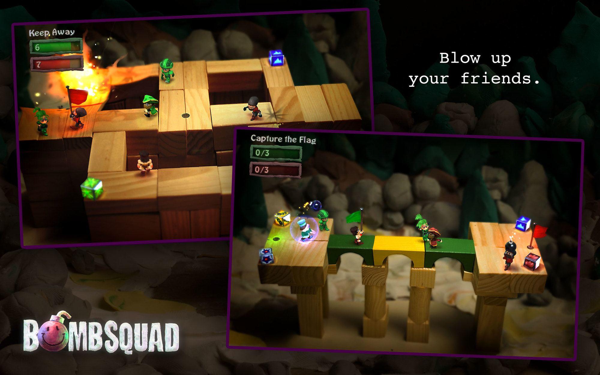 , Rubrique des jeux jouables en local : «BombSquad»