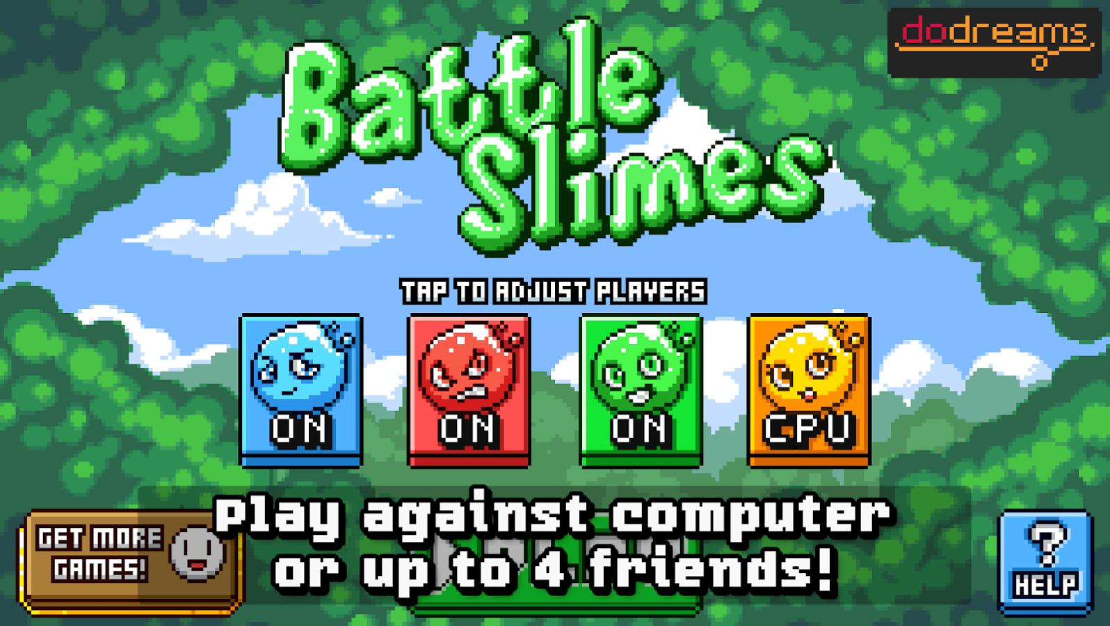 , Rubrique des jeux jouables en local sur Android : «Battle Slimes»